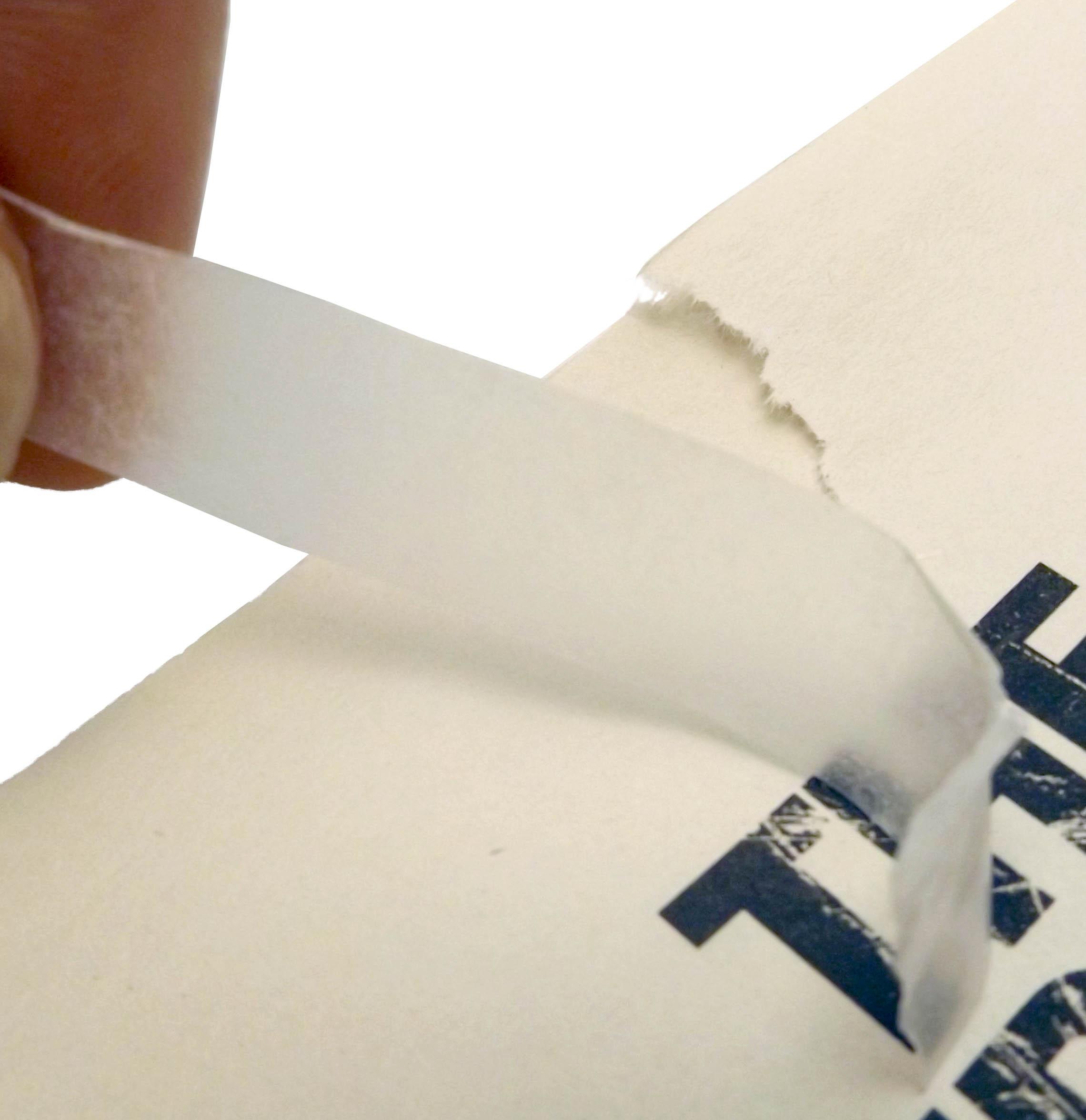 Paper repair tissue